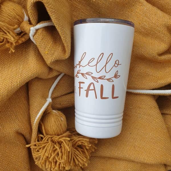 Bilde av Termokopp Hello Fall / Barn Street Designs