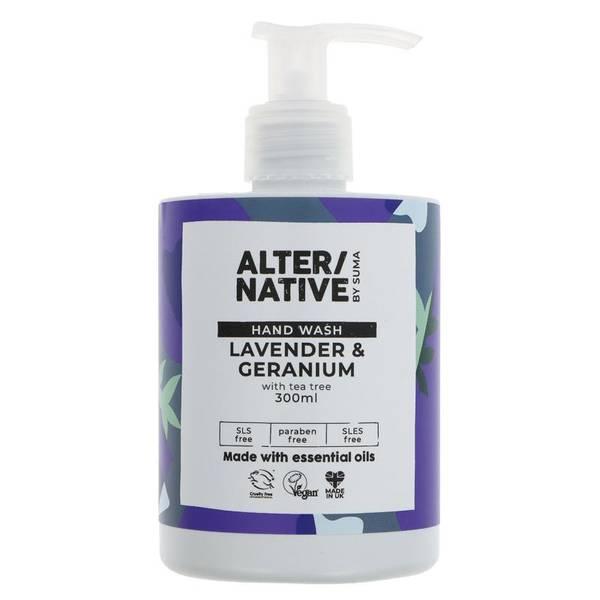 Bilde av Håndsåpe Lavender & Geranium 300ml / Alter/native