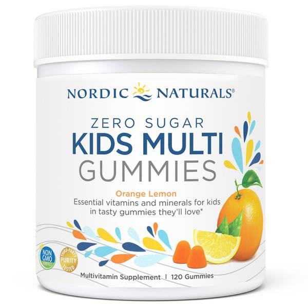 Bilde av Sukkerfri multivitamin til barn, 120stk / Nordic Naturals