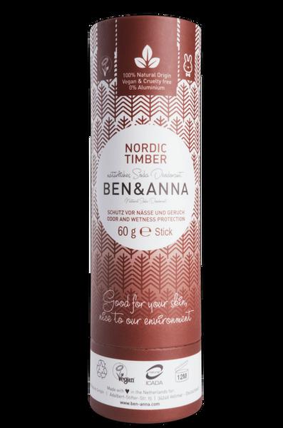 Bilde av Deodorantstift 60g / Nordic Timber / Ben & Anna