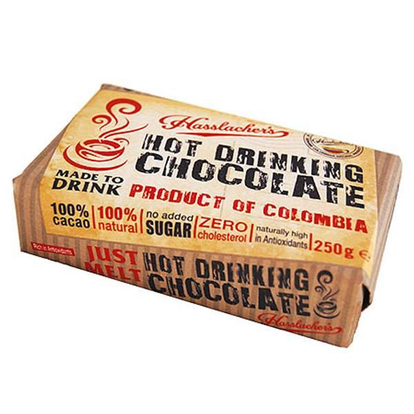 Bilde av Rå sjokoladebar til kakao 250g / Hasslacher´s