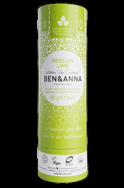 Bilde av Deodorantstift 60g /Persian Lime / Ben & Anna