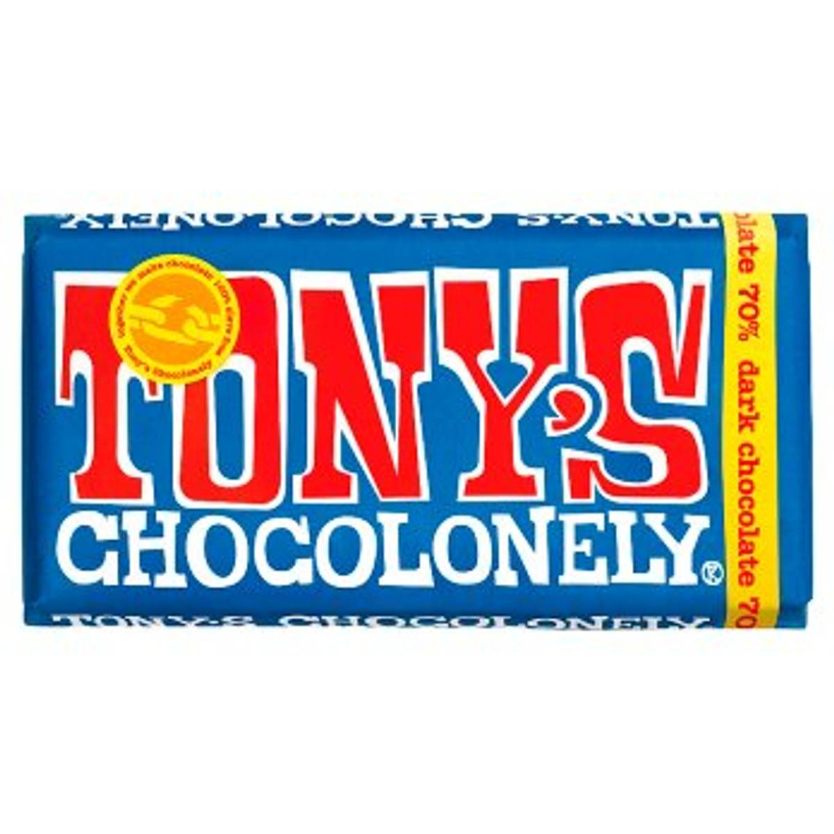 Mørk sjokolade 180g, Fair Trade / Tony