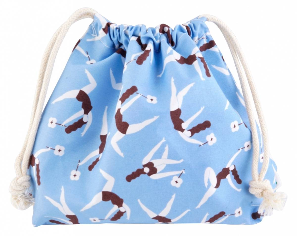 Våtpose med snøring, Hannahgirl Blue / Hannahpad