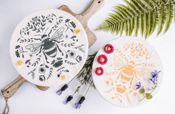 Bilde av str. M/L 2-pk bolletrekk, Bees / Your Green Kitchen