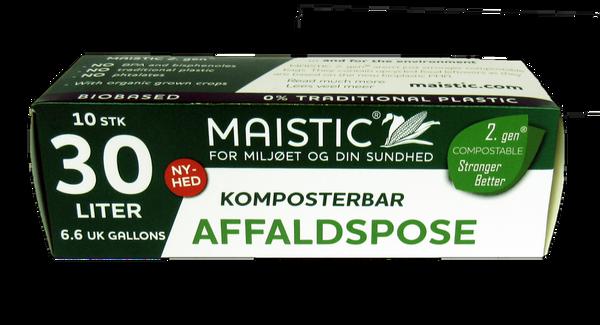 Bilde av Plastfrie søppelposer 30L, Maistic