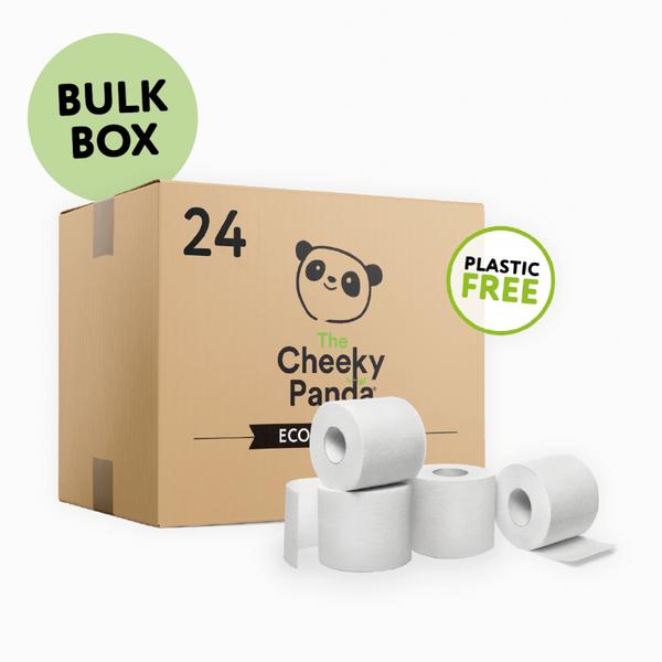 Bilde av Toalettpapir av bambus - 24 stk / The Cheeky Panda