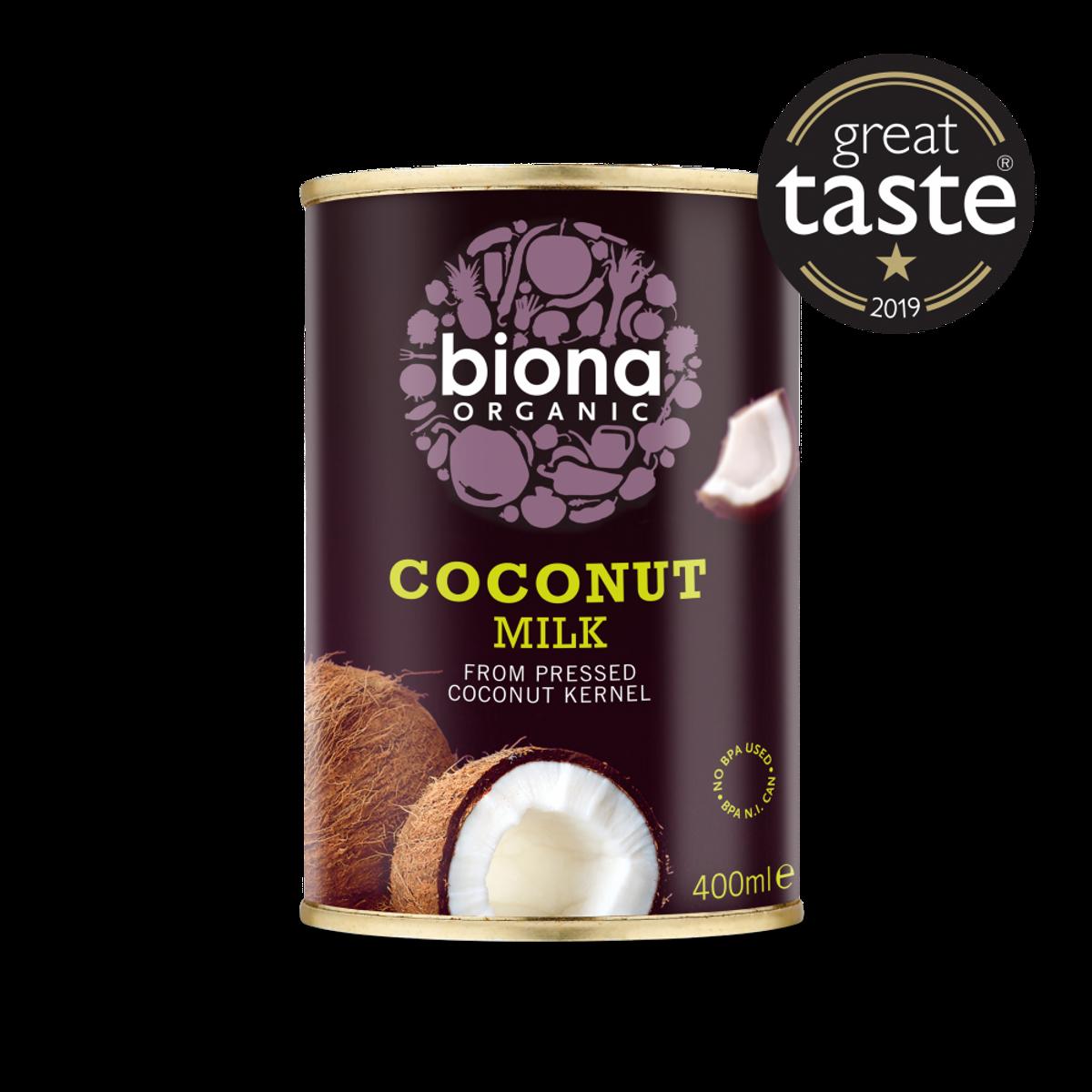 400ml økologisk kokosmelk / Biona Organic