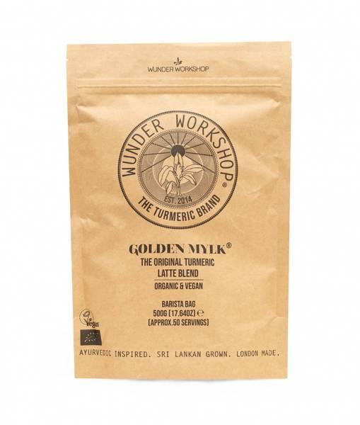 Bilde av Golden Mylk - Latte Blend, økologisk 500g / Wunder Workshop