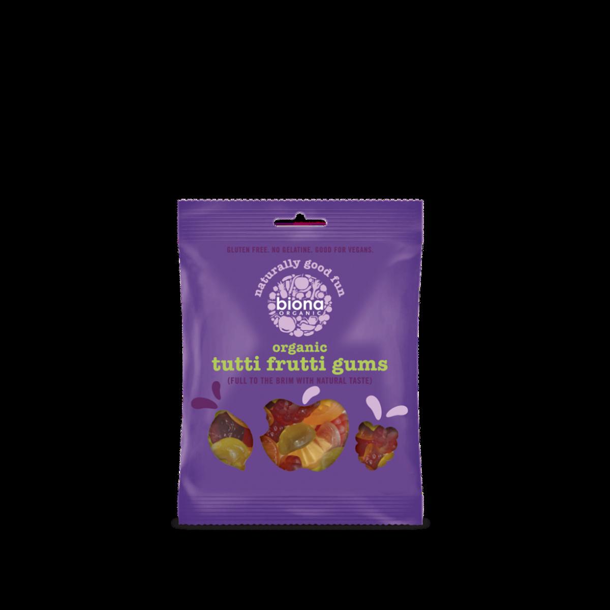 Tutti Frutti Gums smågodt 75g / Biona Organic