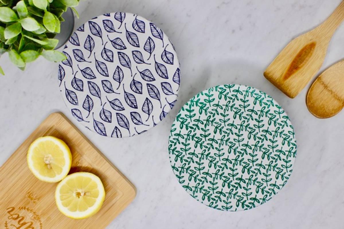 2-pk bolletrekk str. S, Leafy / Your Green Kitchen