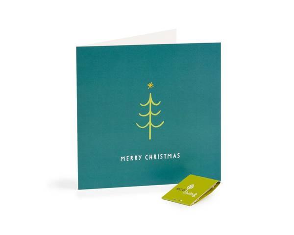 Bilde av  Tree resirkulert julekort m/konvolutt