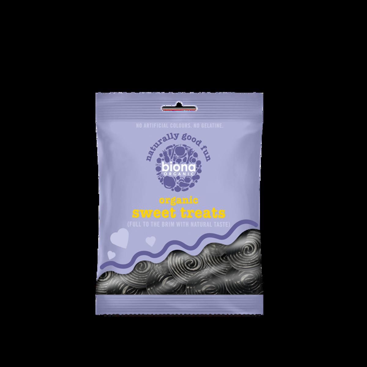 Økologiske Lakrisruller 75g / Biona Organic