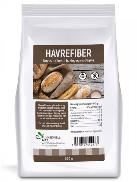 Bilde av Havrefiber 300g / Funksjonell Mat