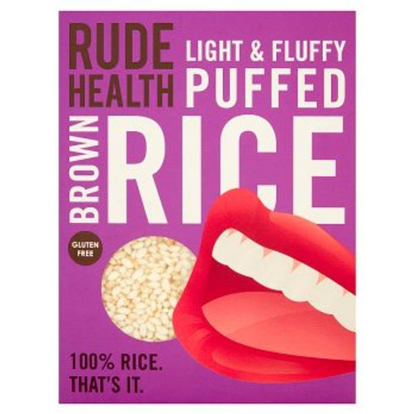 Bilde av Puffet brun ris, 225g / Rude Health