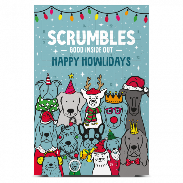 Bilde av Julekalender til hund 75g / Scrumbles