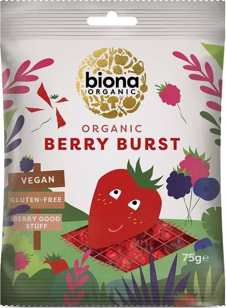 Bilde av Berry Burst vingummi 75g / Biona Organic