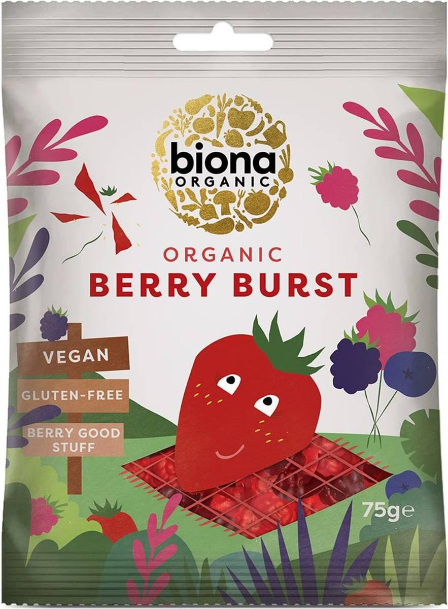 Berry Burst vingummi 75g / Biona Organic