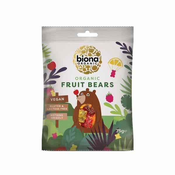Bilde av Fruit Bears, smågodt 75g / Biona Organic
