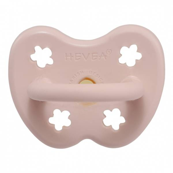Bilde av Ortodontisk smokk 0-3 mnd Powder Pink / Hevea