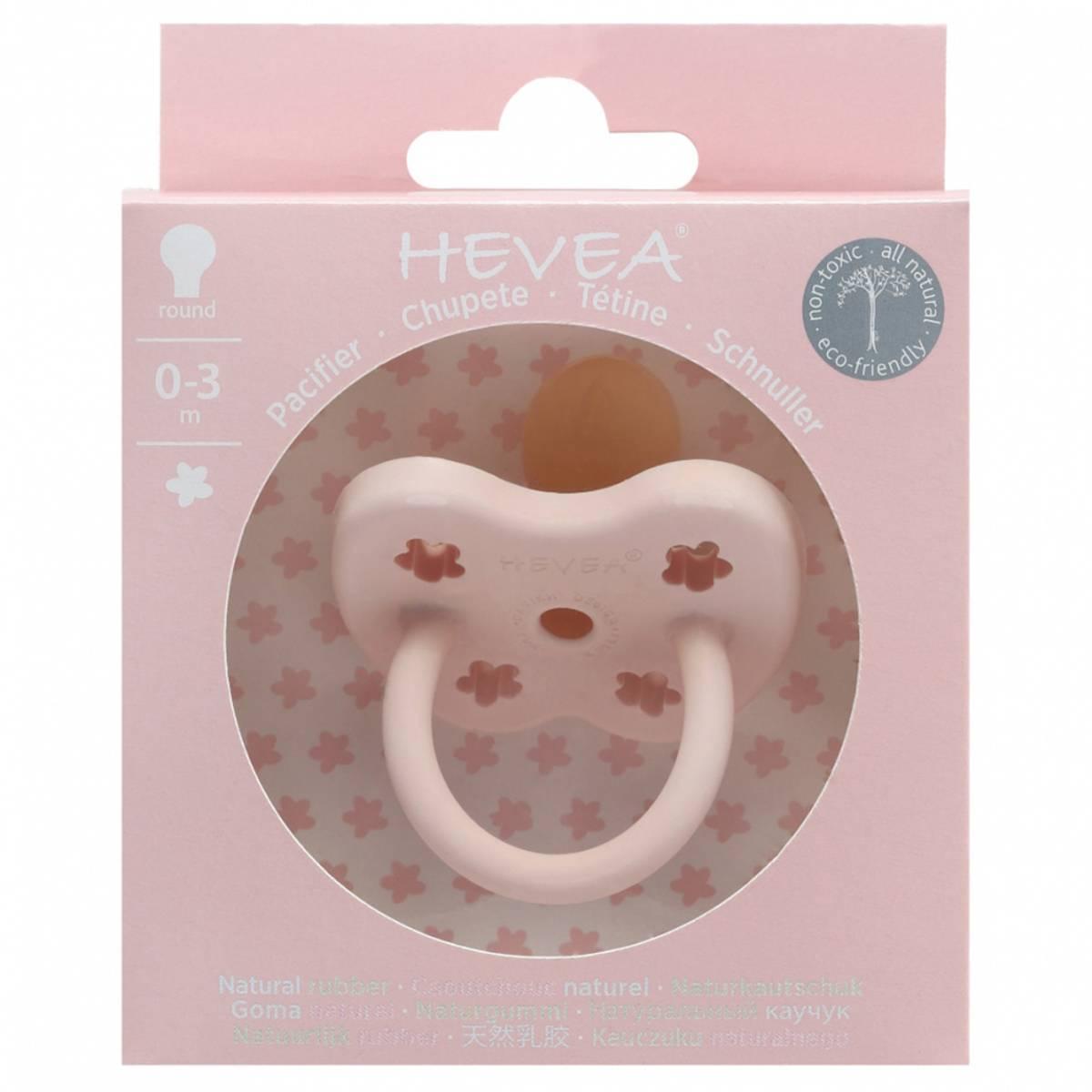 Rund smokk 0-3 mnd Powder Pink / Hevea