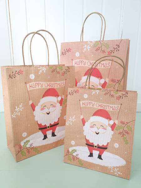 Bilde av Papirpose Glad julenisse